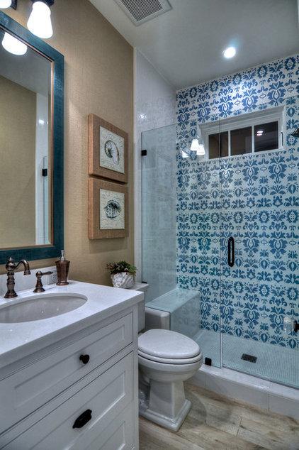 Eclectic Bathroom by Spinnaker Development