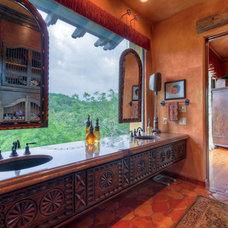 Mediterranean Bathroom by Crawford Luxury