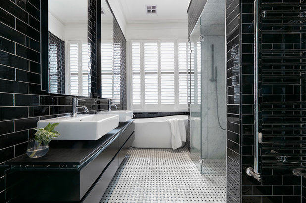 How To Clean Glass Shower Doors Amp Keep Them Clean Houzz