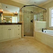 Traditional Bathroom by Hask Custom Homes