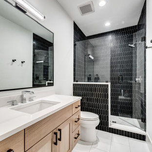75 Beautiful Black Tile Bathroom Pictures Ideas July 2020 Houzz