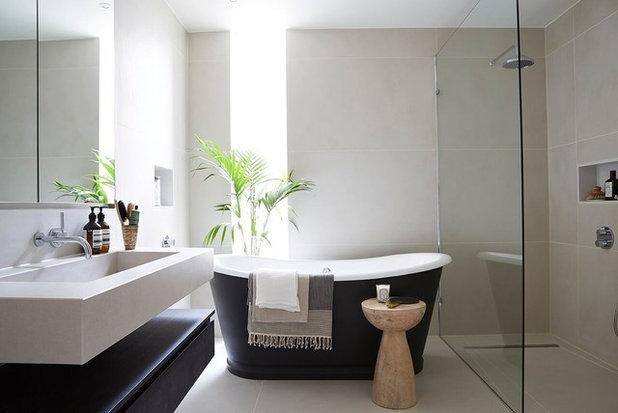 Contemporáneo Cuarto de baño by Banda Property
