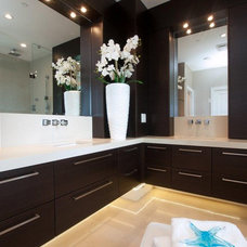 Contemporary Bathroom by Marble Construction