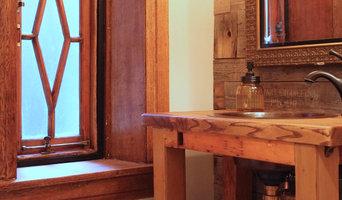 120yr old Historic Victorian Gothic - Powder room