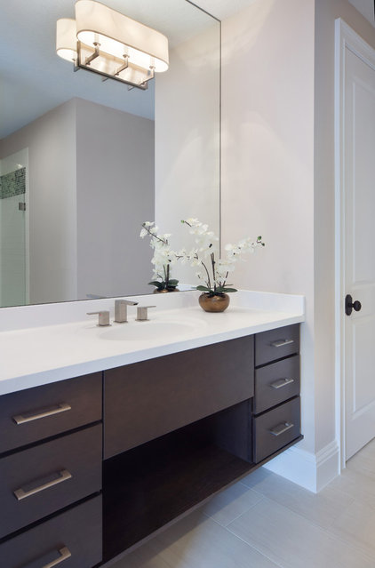 Contemporary Bathroom by IAS Kitchen & Bath Design