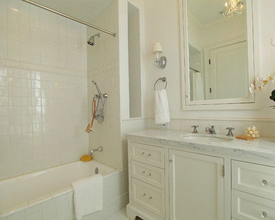 4x4 wall tile bathroom design ideas, remodels & photos