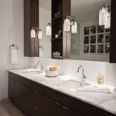 Contemporary Bathroom by The Cross Interior Design