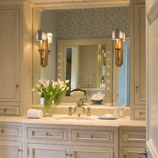 Mediterranean Bathroom by Tiffany Farha Design