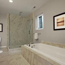 Modern Bathroom by HCS Construction