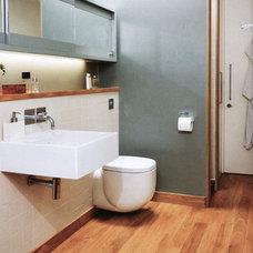 Contemporary Bathroom by Moon Design + Build