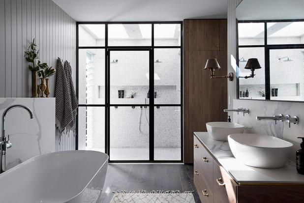 Moderne Badeværelse by WK Quantum Quartz