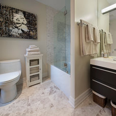 Contemporary Bathroom by Ruby Photography Studio