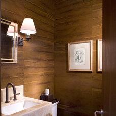 Contemporary Bathroom by ROWLAND BROUGHTON ARCHITECTURE & URBAN DESIGN