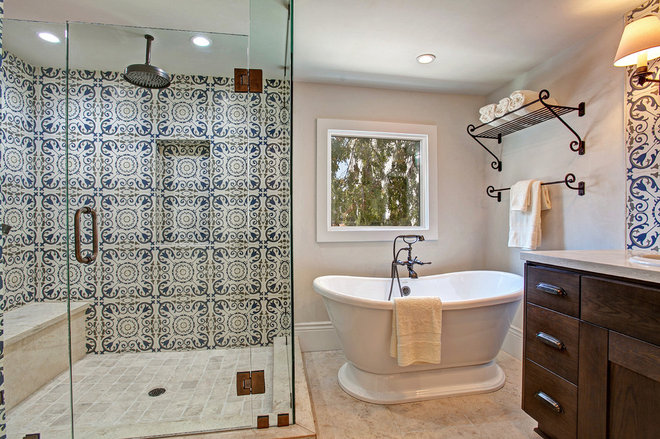 Traditional Bathroom by American Coastal Properties