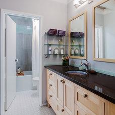 Contemporary Bathroom by DesignTree Studio Interior Design & Decorating