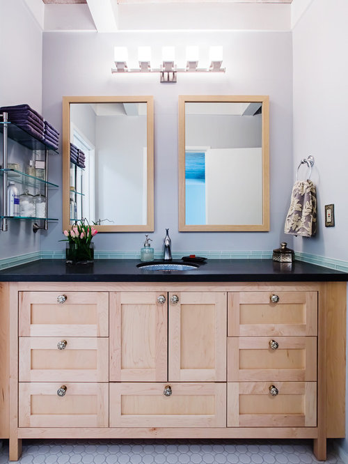 Light Wood Vanities For Bathrooms natural maple vanity | houzz