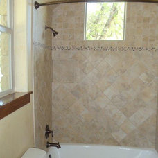 Traditional Bathroom by Jeff Watson Homes, Inc.