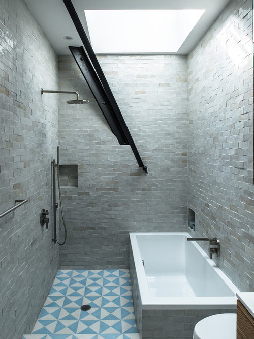 Floor To Ceiling Tile Ideas Pictures Remodel And Decor