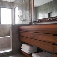 Contemporary Bathroom by Beach House Design & Development