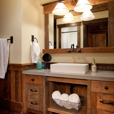 Traditional Bathroom by Magleby Construction