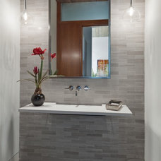 Contemporary Bathroom by Van Trease Constructors