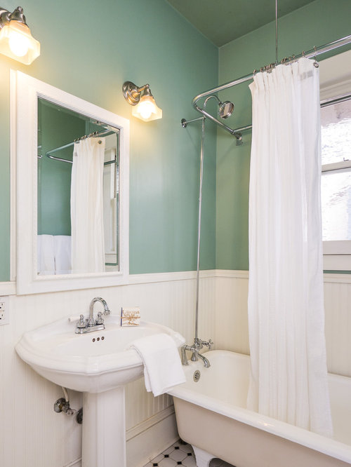 Seafoam Green Walls Houzz