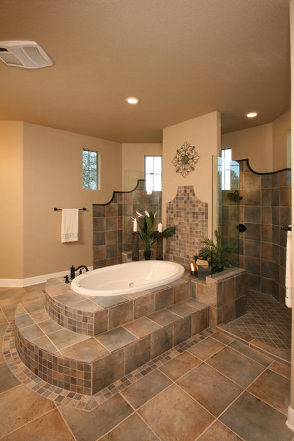Traditional Bathroom by Silver Oak Interiors
