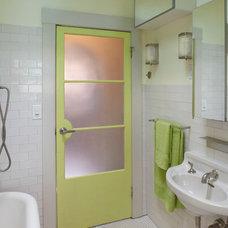 Traditional Bathroom by Sam DeSollar, architect