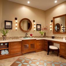 Traditional Bathroom Vanities And Sink Consoles by Masterpiece Millwork & Door