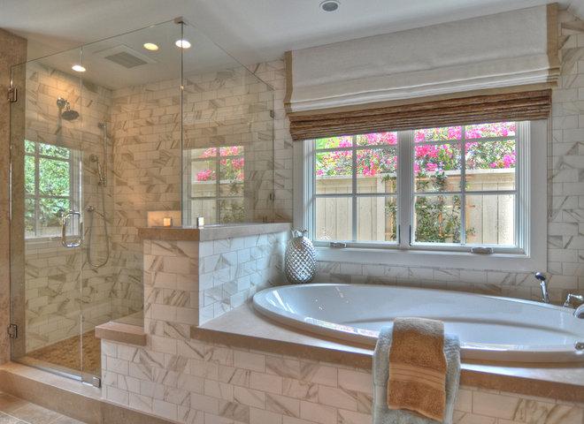 Beach Style Bathroom by Spinnaker Development