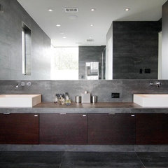 contemporary bathroom by Crestview Homes,LLC
