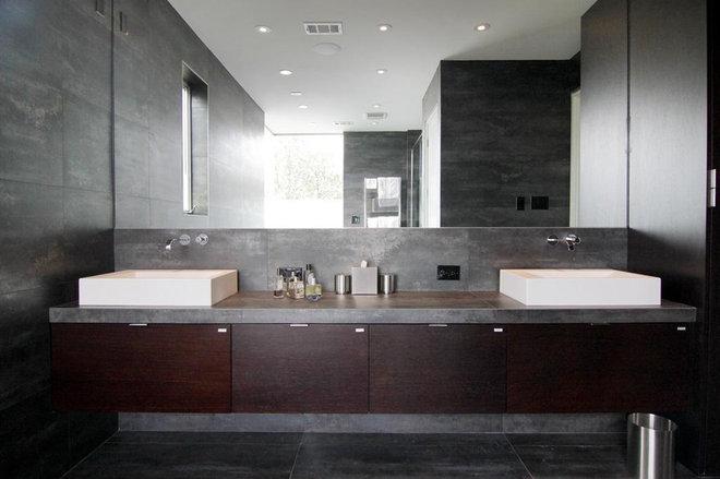 Contemporary Bathroom by Crestview Homes,LLC