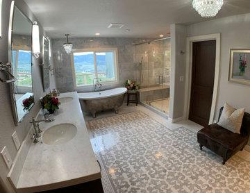 156 - Yorba Linda - Traditional Design Build Kitchen & Master Bathroom Remodel