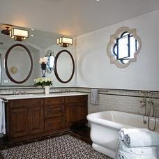 Mediterranean Bathroom by Burdge & Associates Architects