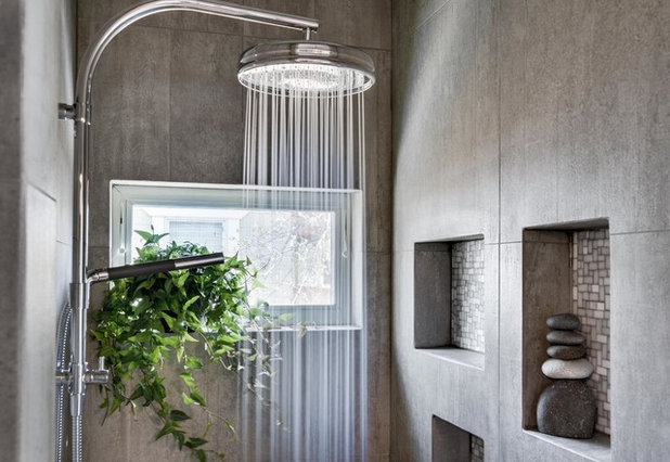 エクレクティック 浴室 by URBANDUO