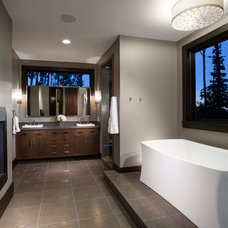 Contemporary Bathroom by Magleby Construction
