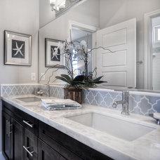 Contemporary Bathroom by MasterCraft Residential