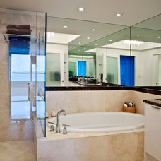 Modern Bathroom by Troy Dean Interiors