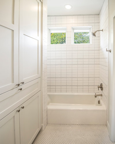 Transitional Bathroom by Mezger Homes