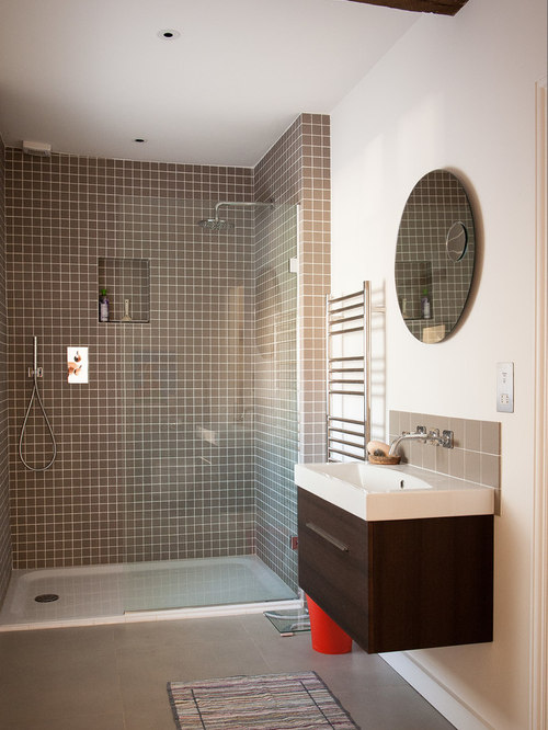 Solid Surface Shower Pan Houzz