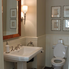 Farmhouse Bathroom by Bartelt. The Remodeling Resource