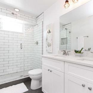 Salle de bain avec carrelage anthracite : Photos et idées déco