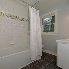 Traditional Bathroom by Thordarson Construction inc.