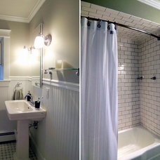 Traditional Bathroom by Jillian Lare Interior Design