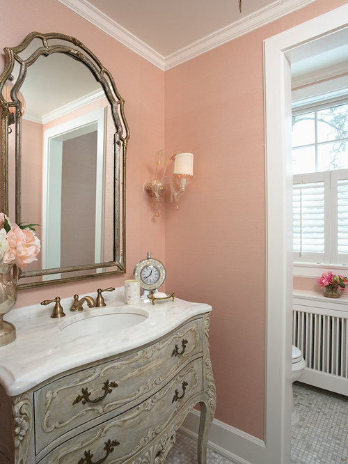 Traditional home design ideas photos for Houzz bathrooms traditional