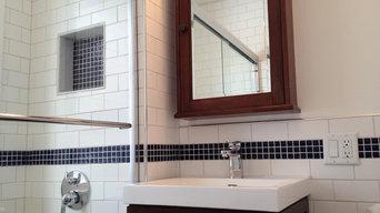 1930 Home Grove Avenue. Bathroom Renovation
