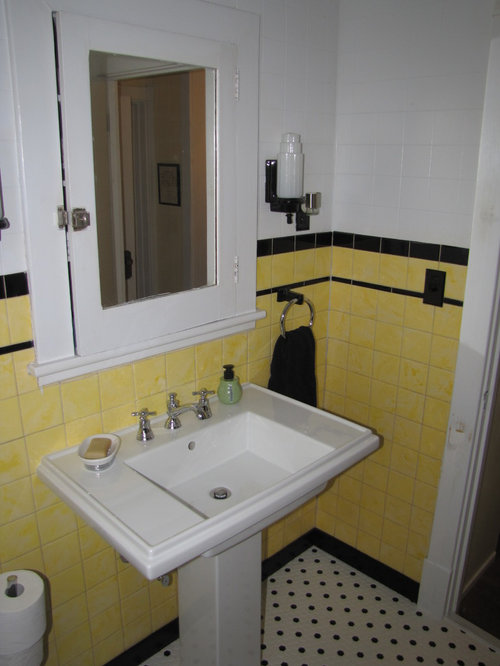 1930s bathrooms home design ideas renovations photos for Bathroom ideas 1930s semi