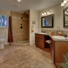 Craftsman Bathroom by Renovation Homes