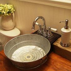 Craftsman Bathroom 1930's Bungalow Bathroom - Farmhouse/Western Style