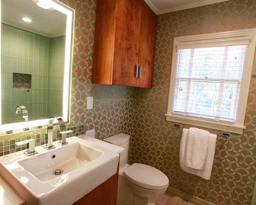 1940s bathroom design ideas renovations photos with for Bathroom designs 1940s